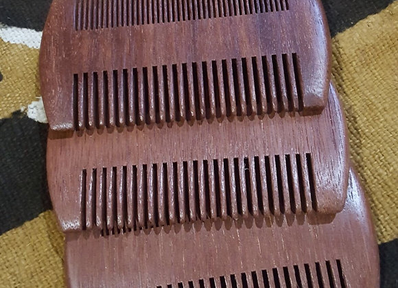 Red Sandalwood Beard Comb