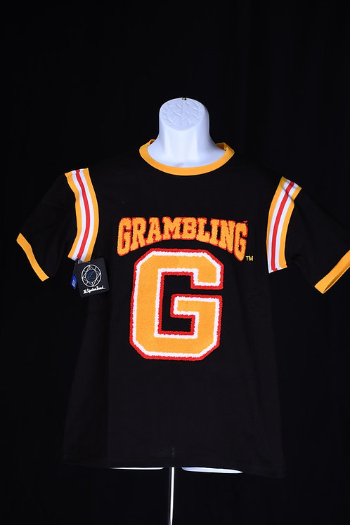"The ""G"" Varsity tee (Black)"