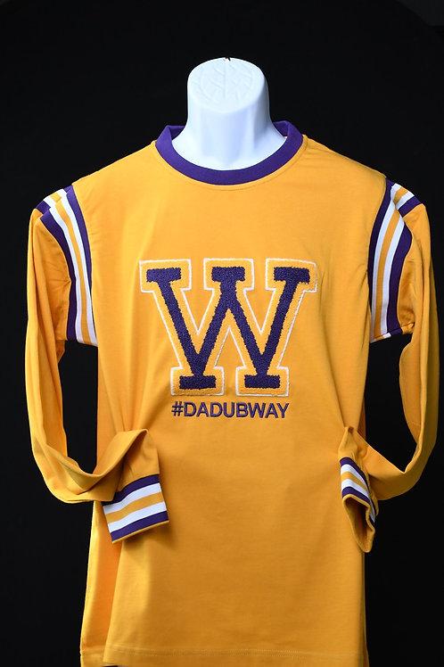 """W"" Varsity Longsleeve tee"