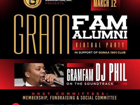 We'll See You @ 7pm (Virtual GramFam Party)