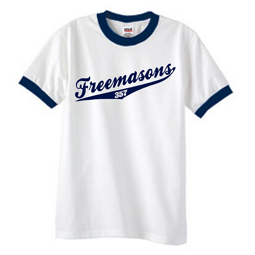 Freemason Ringer T-shirt
