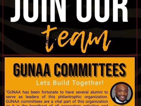 GUNAA Committees