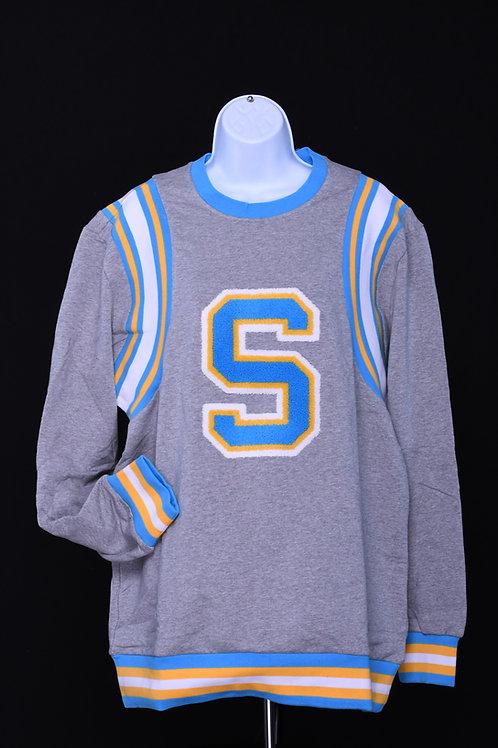 """S"" Varsity Sweater"