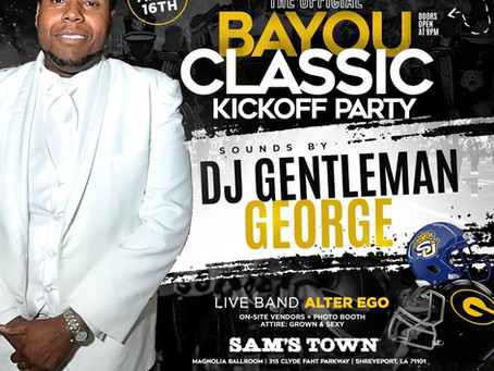 The Official Bayou Classic Kickoff Party