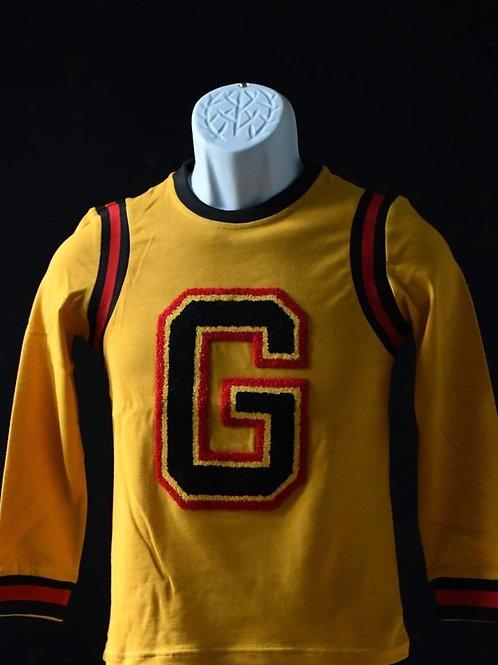 """G"" Varsity Longsleeve tee"