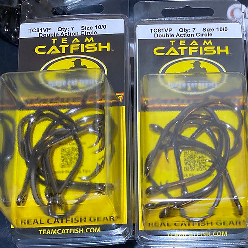 Team Catfish Double Action 10/0 VALUE PACK