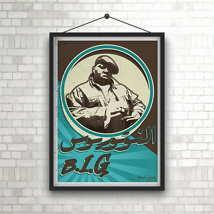 The Notorious B.I.G - Retro Design POSTER