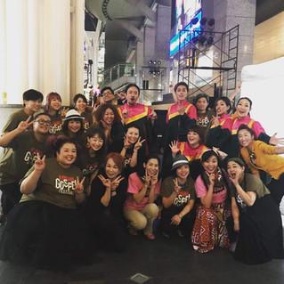 赤毛のサラ ディレクターステージに初参加!九州ゴスペルフェスティバル②