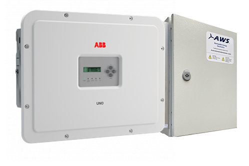 ABB Wind Ready Solar Inverter 6kW + AWS Wind Controller WC20A/800