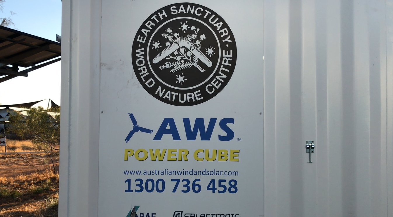Power Cube Earth Sanctuary
