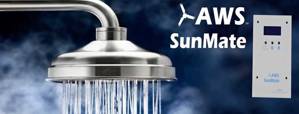 AWS SunMate Solar Hot Water