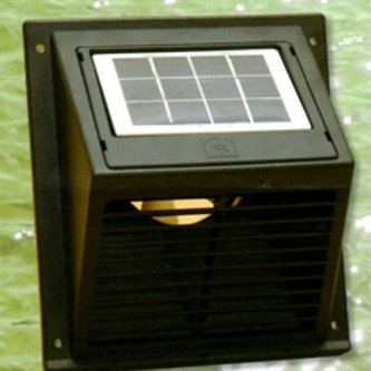 SWF-104 Solar Wall Fan Day & Night - Mobile panel - 4-5 week delay