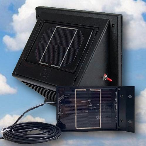 SWF-104 Solar Wall Fan Day & Night - Mobile panel