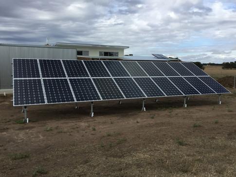 Ground-Mounted Solar Array