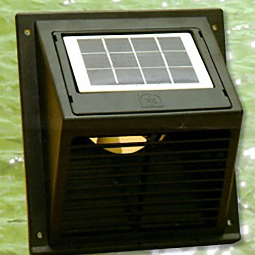 SWF-101 Solar Wall Fan