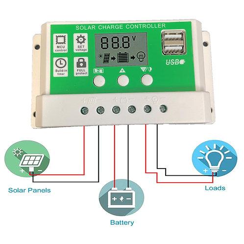 WS Solar Charge Controller 12V/24V 20A