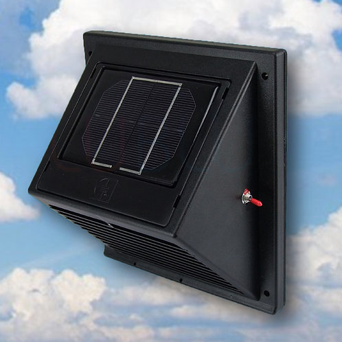 SWF-103 Solar Wall Fan Day & Night