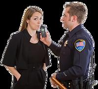 בדיקת נשיפה שכרות אלכוהול