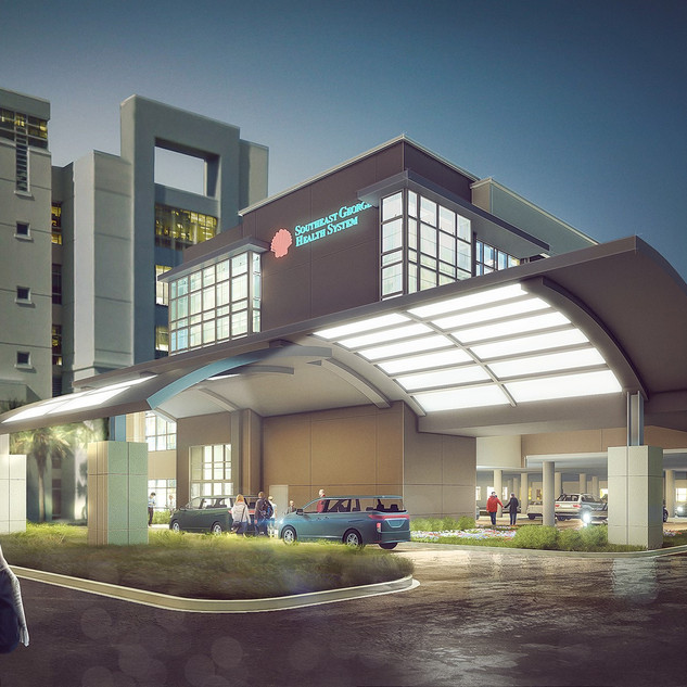 Southeast Georgia, Patient Tower and Emergency Department