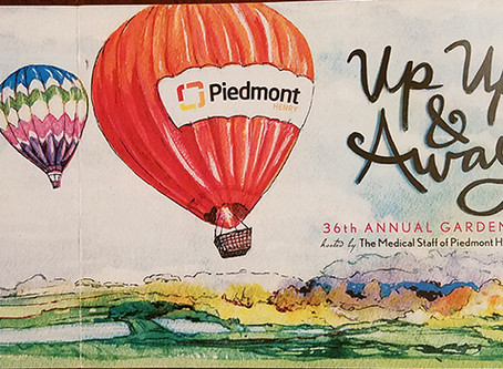 Up Up & Away with Piedmont Henry!