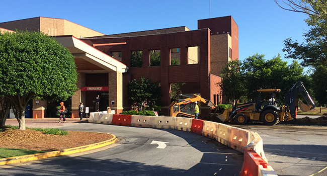 Emergency Department Construction Activity is Here to Stay