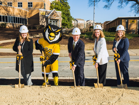 KSU Groundbreaking on Academic Learning Center