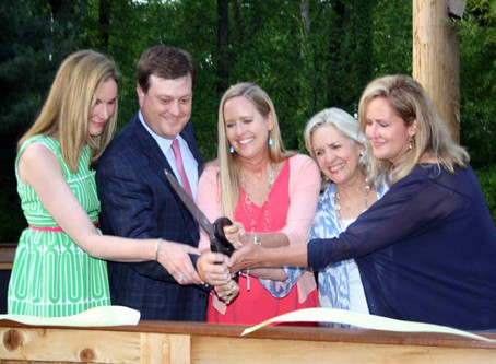 Grand Opening of St. Anne's New Outdoor Learning Environment