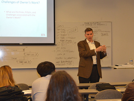 BDR Presents Owner's Perspective to Georgia Tech Class