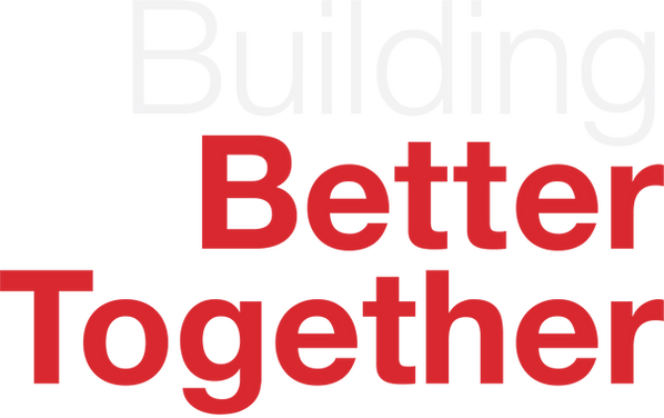 Building Better Together - 2 color white
