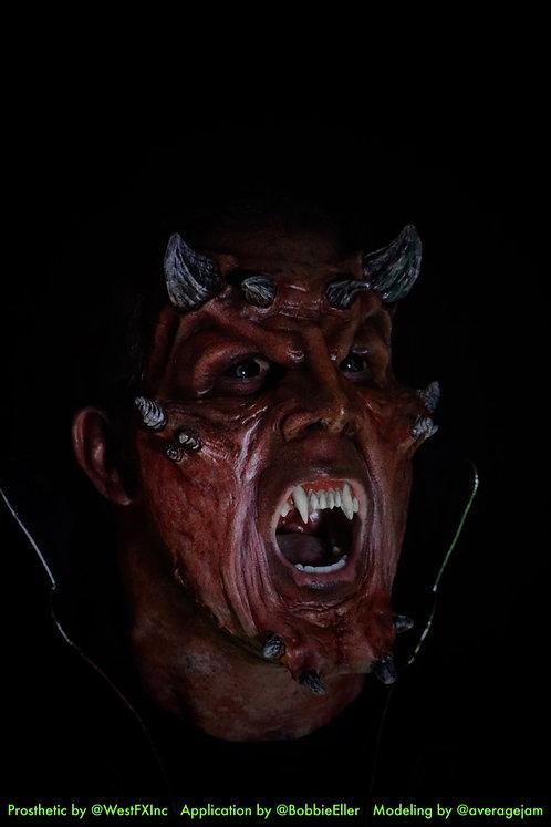 Demon God - Foam Latex Prosthetic F-11