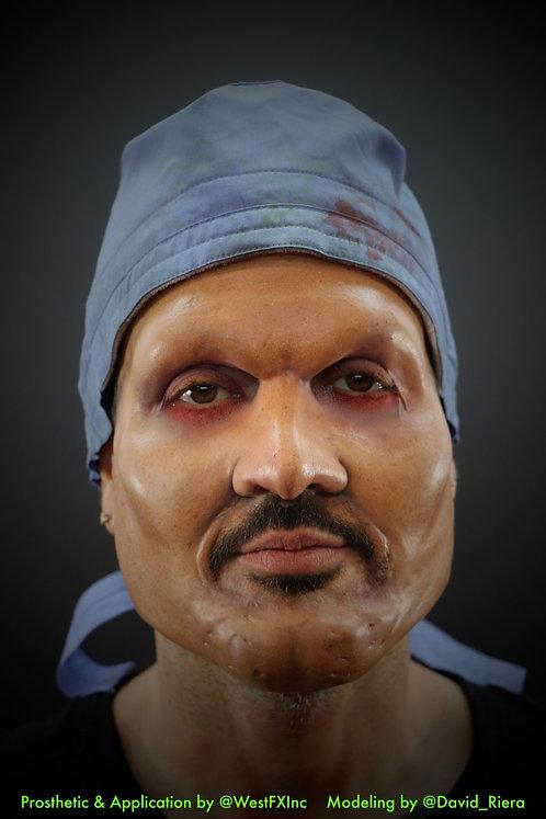 Asylum Surgeon General - Foam Latex Prosthetic F-12
