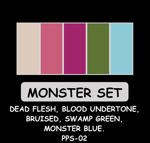 Paint it! Prosthetic Paint Monster Set by West FX Inc. PPS-02