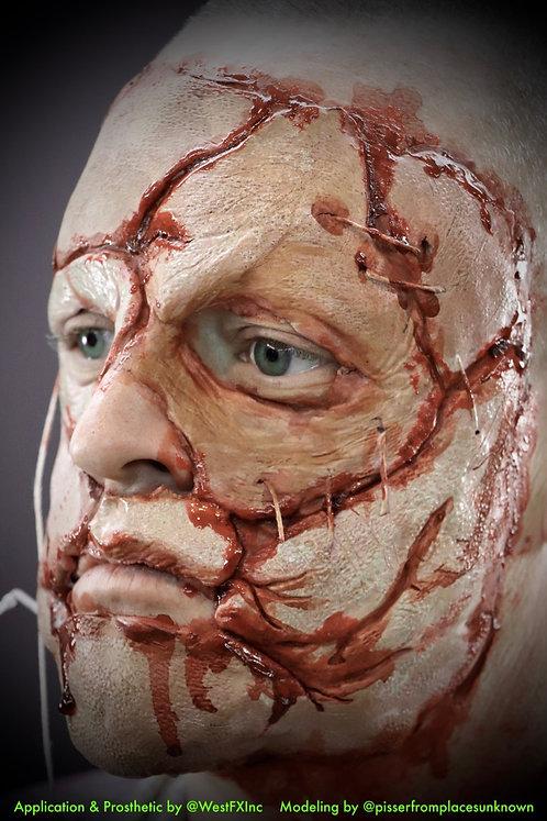 Mutant Dead Skin Mask - Foam Latex Prosthetic F-06