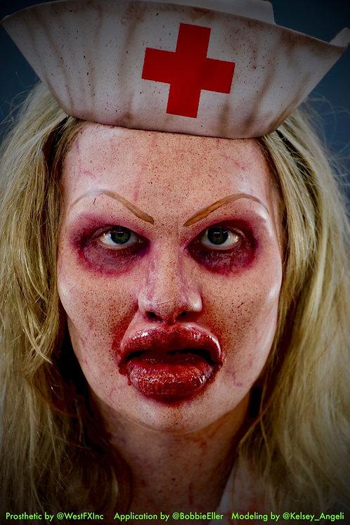 Asylum Botched Nurse - Foam Latex Prosthetic F-13