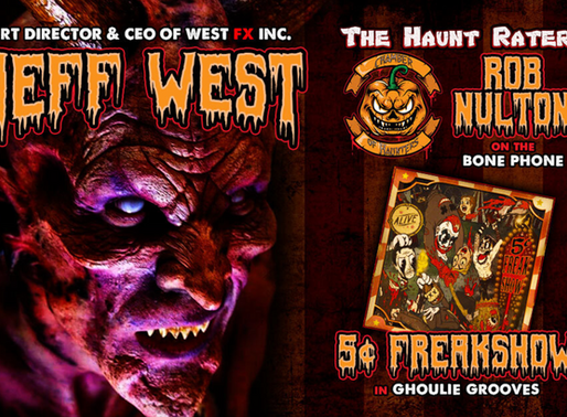 HauntCast Podcast Interviews West FX Inc.'s own Jeff West