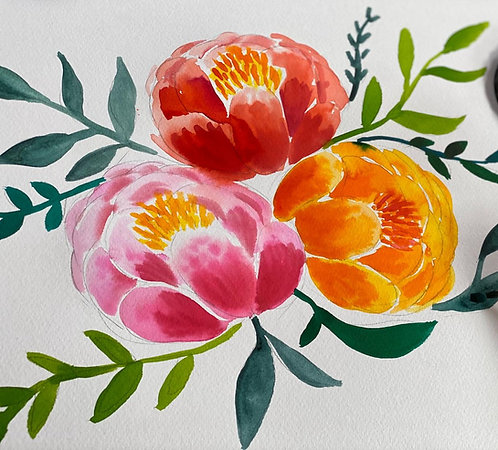 Wonderful Watercolours Course