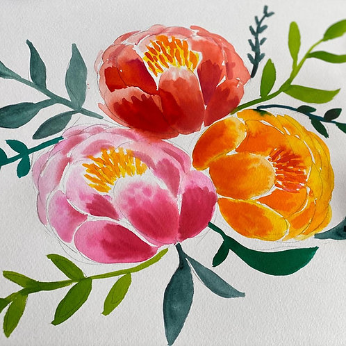 Wonderful Watercolours Course