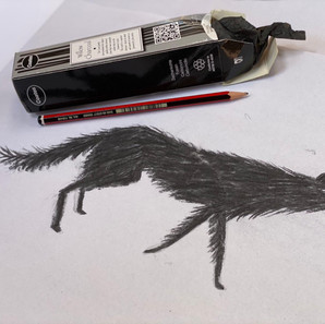 Charcoal Wolf Animation