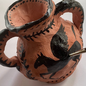 Clay Greek Pot