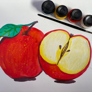 Apples in Ink