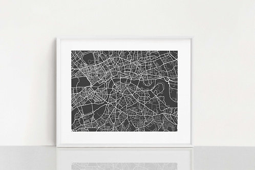 London, UK Map