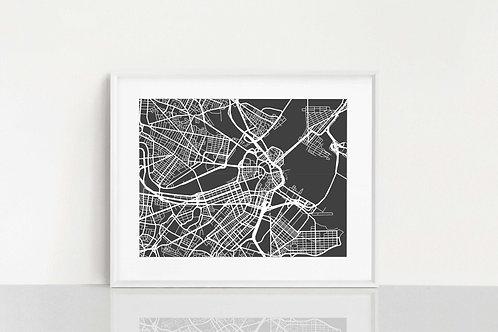 Boston, MA Map