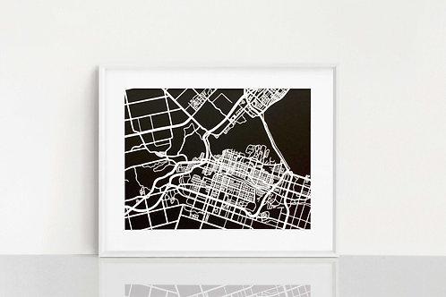 Hamilton, ON Map