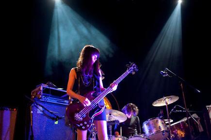 The Japanese Post Rock band Mono performing at Islington Assembly Hall, London.