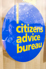 Volunteer worker at the Handsworth Citizens Advice Bureaux, which is facing closure due the Birmingham City Council withdrawing £600,000 funding for all 5 walk-in advice centres in the city.