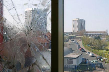 Tower blocks, Ladywood, Birmingham. Ladywood has the highest level of poverty in the UK.