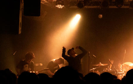 Envy, performing at Gebäude 9, Cologne, Germany.