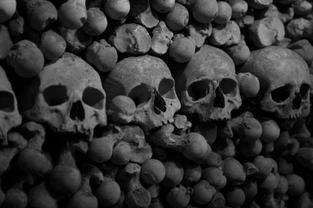Skulls, Kutna Hora, Czech Republic. 2014
