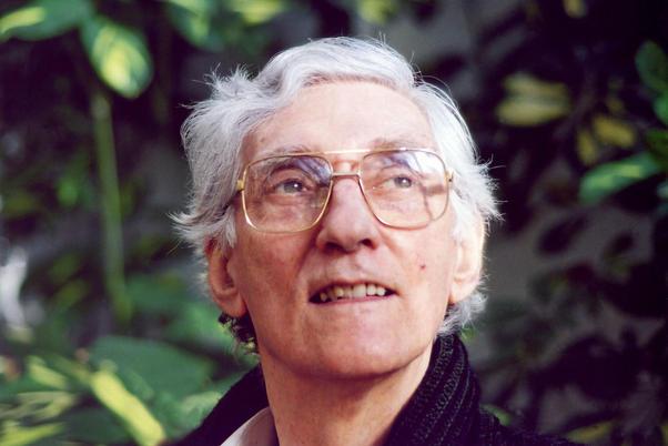 Urgyen Sangharakshita, Founder of the Triratna Buddhist Order, 2001, Madhyamaloka, Birmingham.