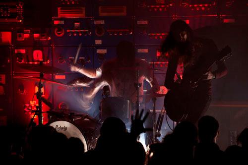 Post Metal band Russian Circles performing at the Gorilla, Manchester.